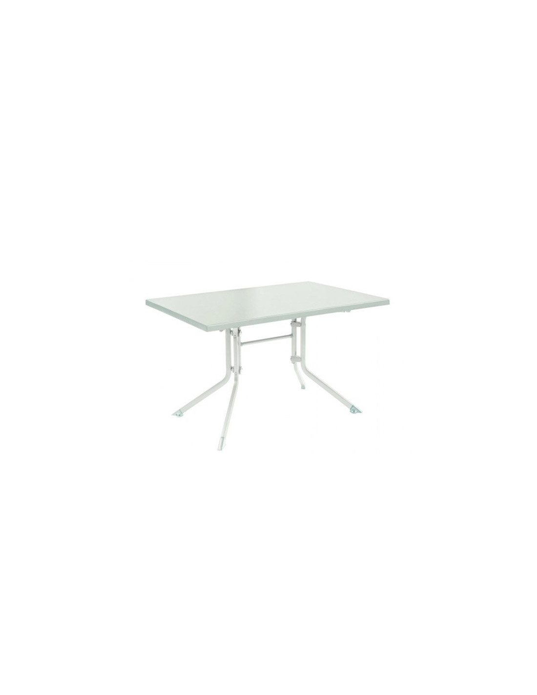 Table de jardin Kettler ADVANTAGE pliante carrée en aluminium