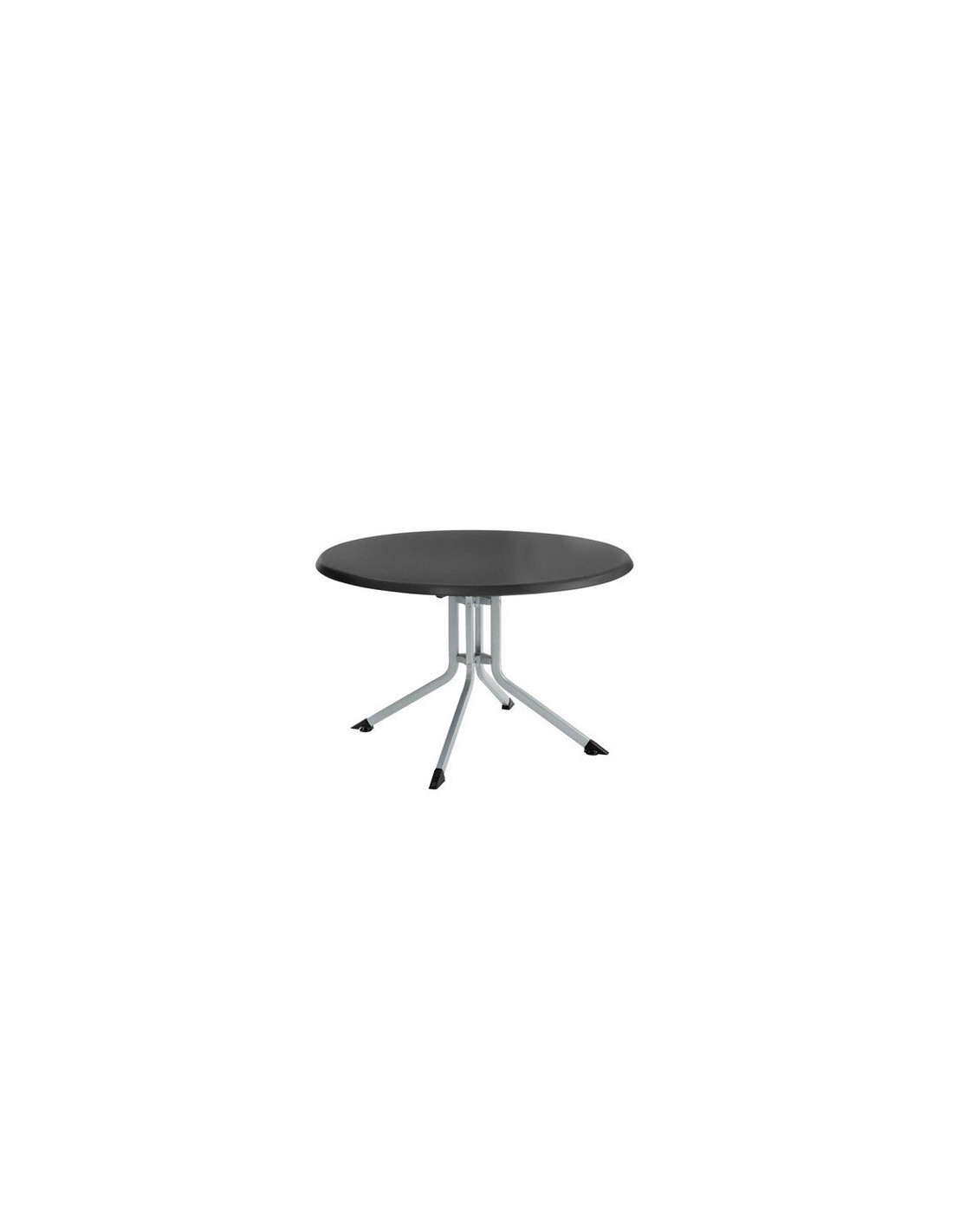 Table de jardin kettler advantage pliante ronde en aluminium - Table de jardin aluminium pliable ...