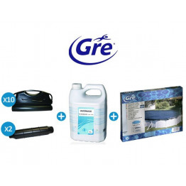 Pack hivernage Gre Pool pour piscine ovale
